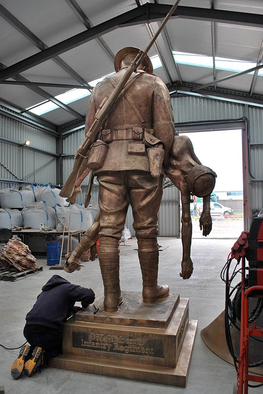 james butler sculptor making a sculpturejames butler