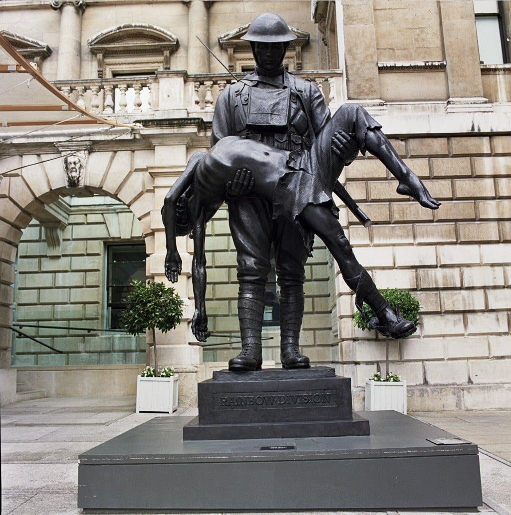 Rainbow Division Memorial at Royal Academy of Arts