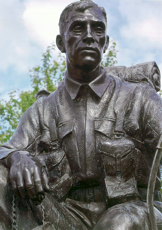 The Green Howards D-Day Memorial (Soldier Detail)