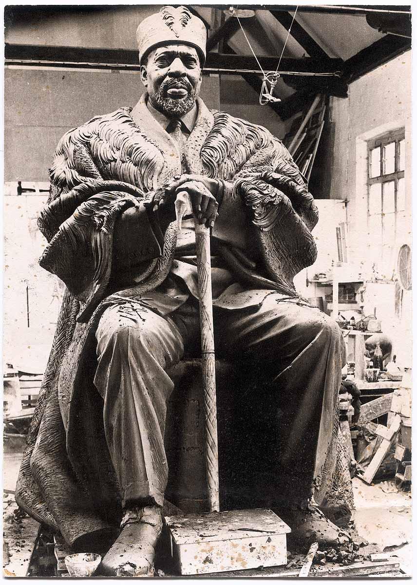 President Jomo Kenyatta of Kenya (Studio Detail)