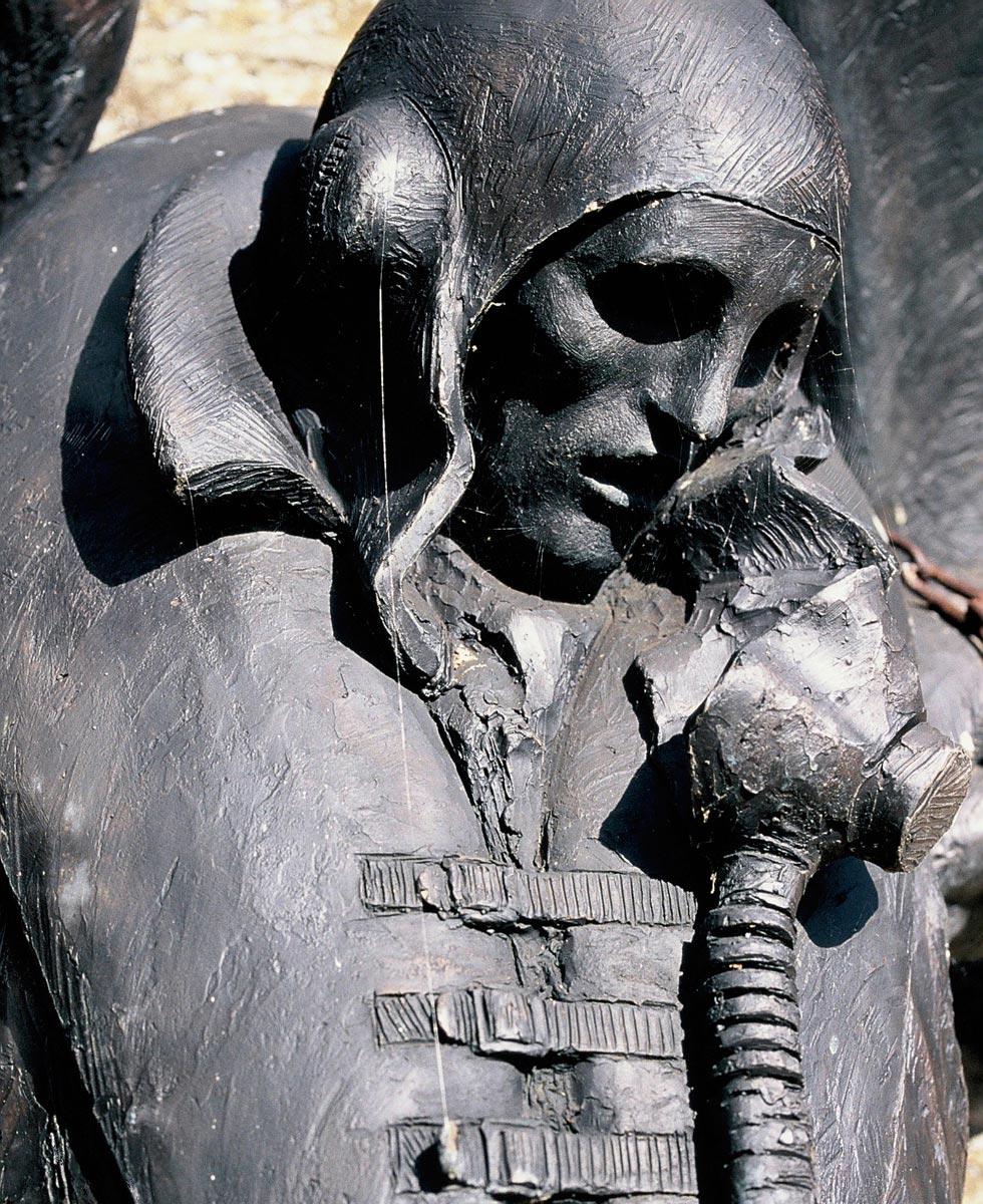 Memorial to the Fleet Air Arm - Deadalus (Detail)